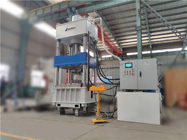 Double-action hydraulic press