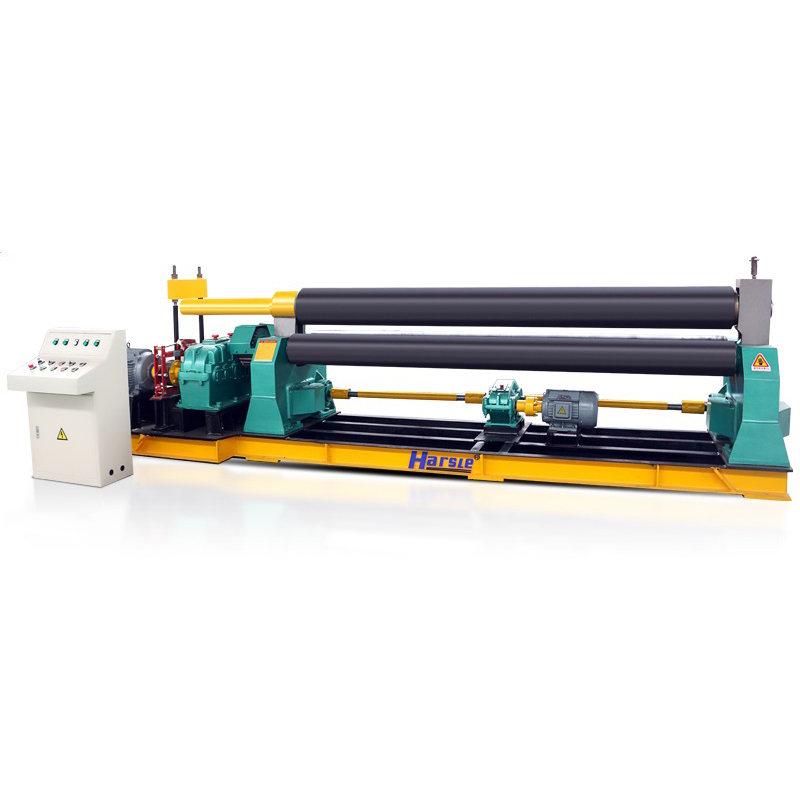 W11 Three-Roller Mechanical Metal Sheet Rolling Machine