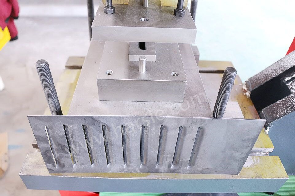 Louver Production by Punching Dies