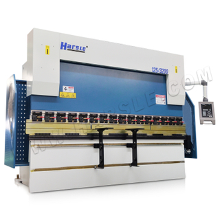 WE67K-125T/3200 Hybrid CNC Press Brake with DA-52S Controller, 3+1 Axis Hydraulic Bending Machine