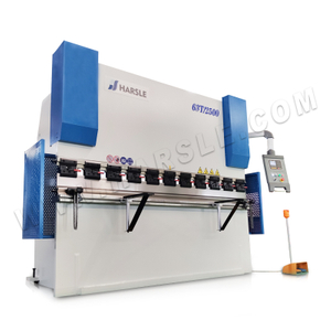 WC67K-63T2500 Hydraulic Press Brake Machine with E200P