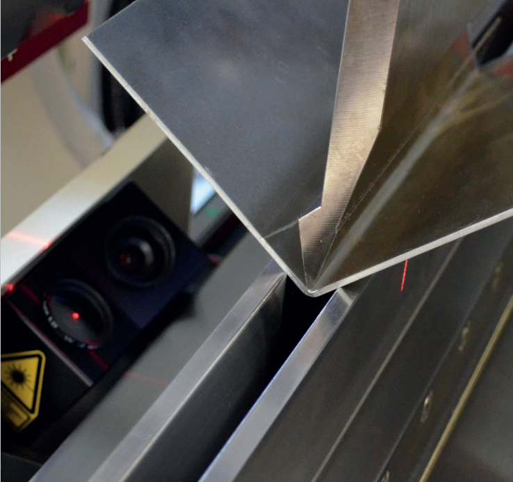 bending angle of CNC press brake