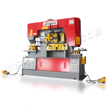 Ironworker machine, Q35Y-25 hydraulic combined punching shearing machine for sale